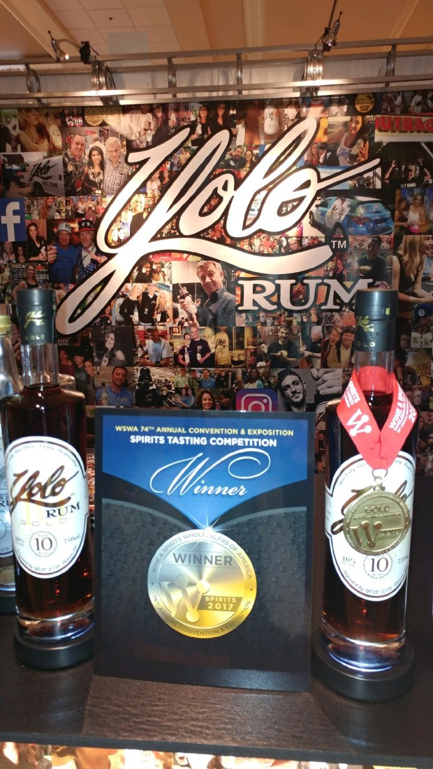 Yolo Rum Wins Gold Medal at WSWA