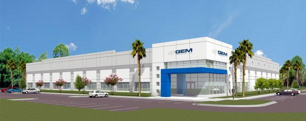 GEM Products Building Rendering