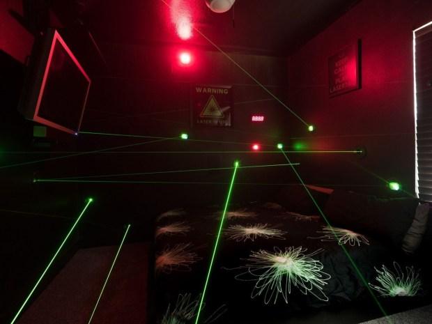 Orlando Area Luxury Rentals vacation home lasers