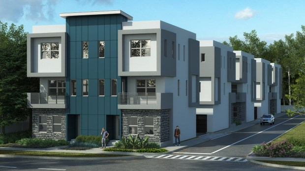 ICON Residential SoDo Place Modern Townhome Community