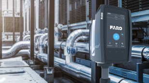 Industrial plants require professional-grade laser scanners such as the FARO Focus S 70 for dependable performance. (PRNewsfoto/FARO Technologies, Inc.)