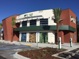 USF Federal Credit Union opens modern branch in New Tampa. (PRNewsfoto/USF Federal Credit Union)