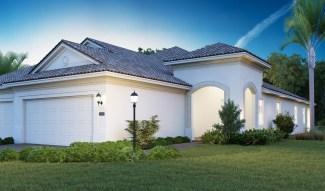 Exterior of Mirabella's Marisa 2 bedroom Villa. (PRNewsfoto/Mirabella Florida)