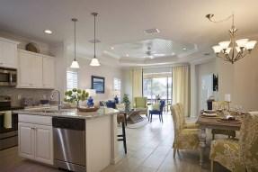 Interior of Mirabella's Daniela 2 Bedroom Floor Plan. (PRNewsfoto/Mirabella Florida)