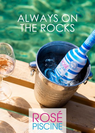 Rosé Piscine, The French Rosé Made to be Served Over Ice (PRNewsfoto/Rosé Piscine)