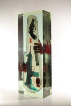 "David Cerny ""X-Ray Violin"" (PRNewsfoto/Hohmann Fine Art)"