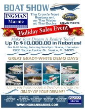 Ingman Marine's 2017 Grady-White Holiday Sales Event (PRNewsfoto/Ingman Marine)