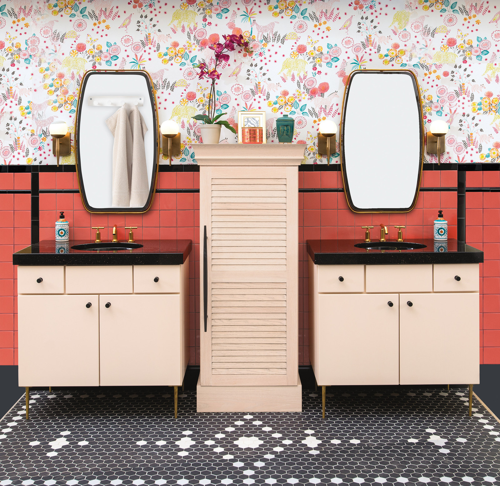 Although The Antithesis Of All Things Commonly Wellborn Cabinet, Inc., This  Unique Bathroom Sits Front And Center In This Yearu0027s Industry Show Booth.