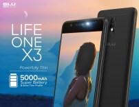 BLU Life One X3 (PRNewsfoto/BLU Products)