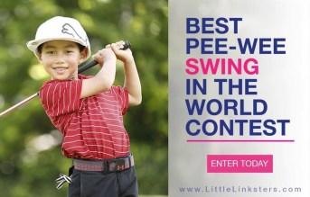 Best Pee-Wee Swing (PRNewsfoto/The Little Linksters™ Associati)