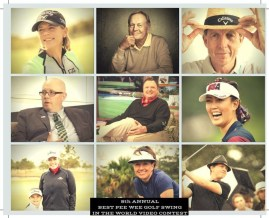 """Little Linksters """"Best Pee-Wee Golf Swing in the World"""