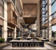 Lobby of JW Marriott Tampa, courtesy of Champalimaud Design (PRNewsfoto/Strategic Property Partners)
