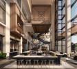 Lobby of JW Marriott Tampa, courtesy of Champalimaud Design (PRNewsfoto/Strategic Property Partners)