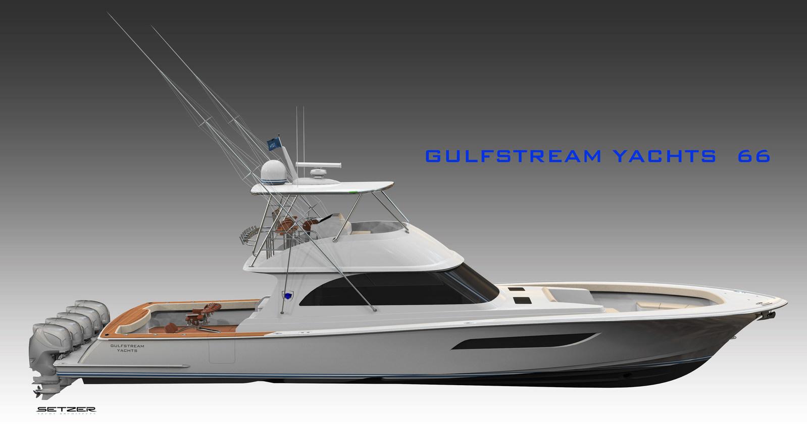 Gulfstream Yachts 66 FlybridgeModel