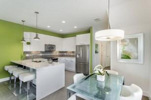 Serenity Townhome Kitchen (PRNewsfoto/Zenodro Homes)