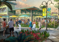 LATITUDE MARGARITAVILLE Hilton Head Town Center Rendering (Rendering Credit: The McBride Company) (PRNewsfoto/Margaritaville)