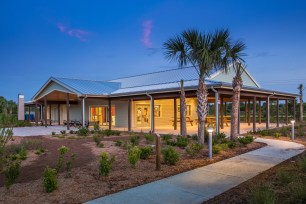 The design for Sarasota's Audubon Nature Center has earned Zero Net Energy Building Certification from the New Buildings Institute (NBI). (PRNewsfoto/Carlson Studio Architecture)