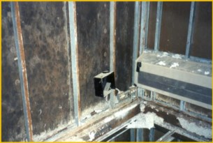 The greatest risk of modular construction failures has been seen in facilities that are domicidal or multi-family in nature, such as hotels, student housing, senior living, and soldier housing. (PRNewsfoto/Liberty Building Forensics Group)