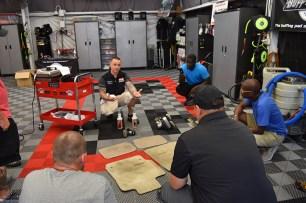Justin Labato demonstrates how to clean very dirty automotive carpets (PRNewsfoto/Justin Labato)