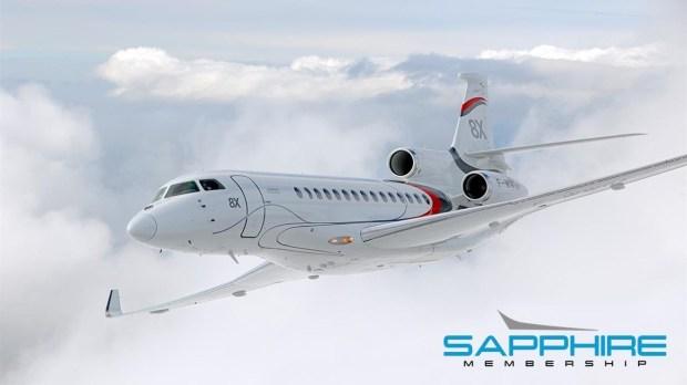 BlueSky Jets Sapphire Membership