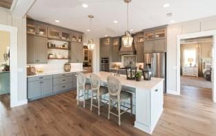 "MasterCraft Builder Group's Egret model in Shearwater wins Parade of Homes ""Buyer's Choice Award: Best Kitchen"" (PRNewsfoto/MasterCraft Builder Group)"