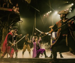 Pirates Dinner Adventure in Orlando, Florida is an adventure-packed and interactive dinner show (PRNewsfoto/Pirates Dinner Adventure - Orla)