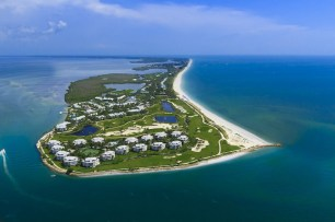 South Seas Island Resort Aerial (PRNewsfoto/South Seas Island Resort)