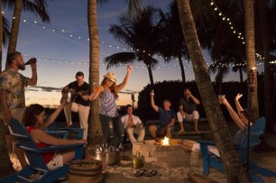 South Seas Island Resort's Sunset Beach Fire Pit (PRNewsfoto/South Seas Island Resort)