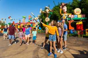 Toy Story Land at Walt Disney World Resort. (Disney)