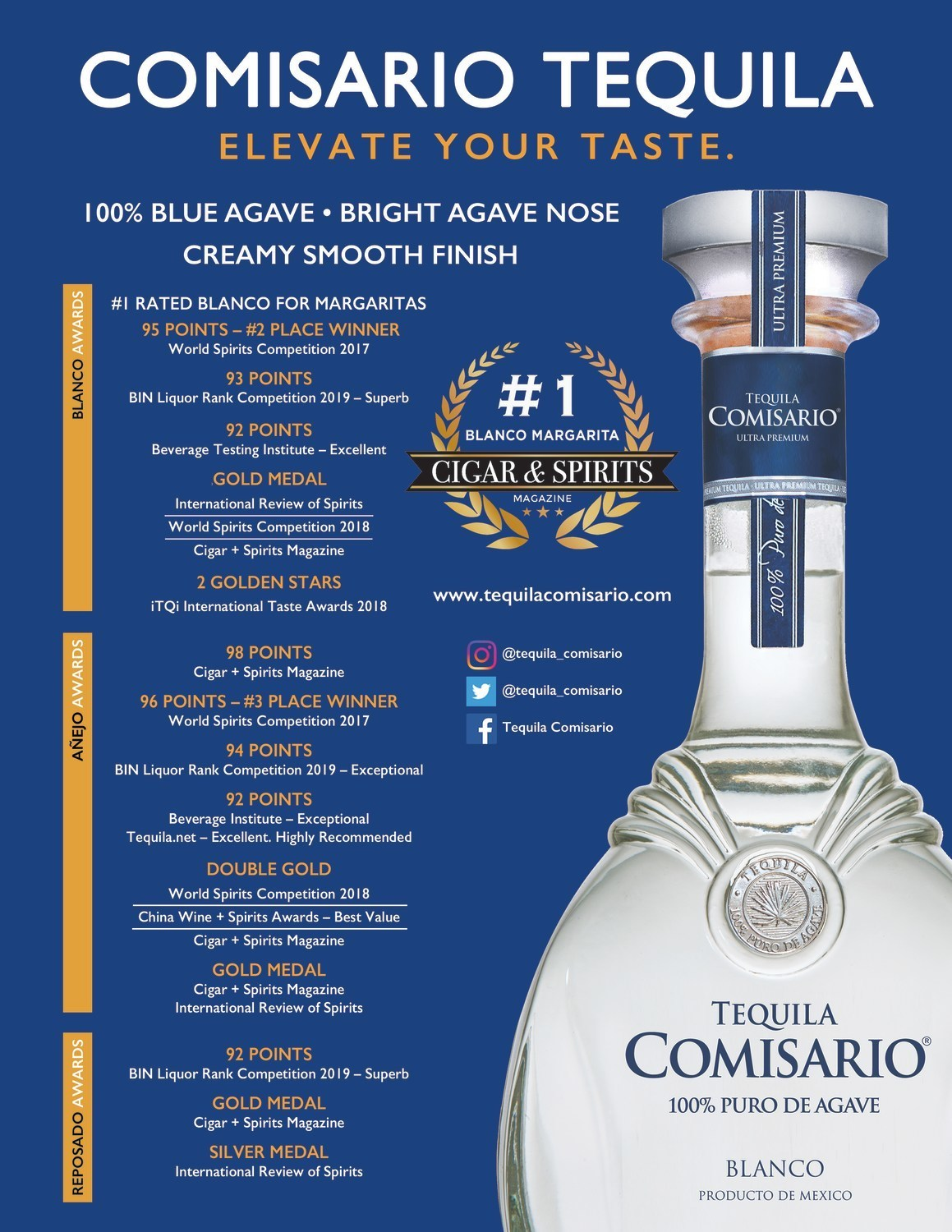 Elite Beverage International-Comisario-FlyerAwards