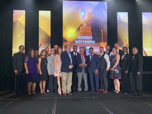"SunDance Named ""Florida's BEST Printer"" at 2019 Florida"