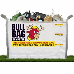 BullBag has 3 fill heights for your convenience - pay only for height filled NOT by weight!