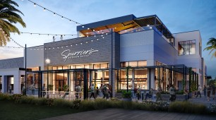 Spurriers Celebration Pointe Restaurant Exterior